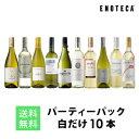 ワイン ワインセット パーティーパック 白だけ10本 BQ5-2 [750ml x 10] 送料無料