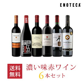 ワイン ワインセット 濃い味赤ワイン6本セット VB3-1 [750ml x 6] 送料無料
