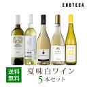 ワイン ワインセット 夏味白ワイン5本セット WR6-1 [750ml x 5] 送料無料