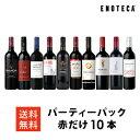 ワイン ワインセット パーティーパック 赤だけ10本 AQ8-1 [750ml x 10] 送料無料