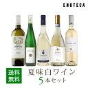 ワイン ワインセット 夏味白ワイン5本セット WR6-7 [750ml x 5] 送料無料
