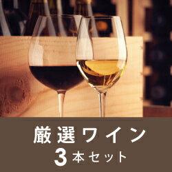 【毎月ポイント5倍が付く!】Aコース 厳選ワイン3本セット【初回10月20日お届け】