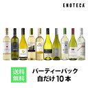 ワイン ワインセット パーティーパック 白だけ10本 BQ11-1 [750ml x 10] 送料無料