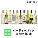 ワイン ワインセット パーティーパック 白だけ10本 BQ9-4 [750ml x 10] 送料無料