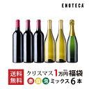 【送料無料】ワイン クリスマス福袋1万円(ミックス6本)XF11-4[750ml x 6]