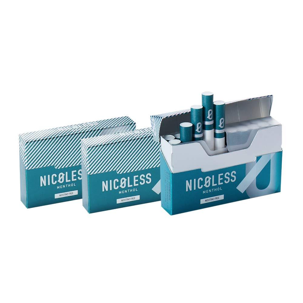【予約4月末より順次発送】NICOLESS ニコレス メンソール 3箱 (1箱 20本入り) 加熱式タバコ 加熱式たばこ ニコチン0 タール0 たばこ風 電子タバコ 電子たばこ 禁煙グッズ 互換機 スタイル 送料無料