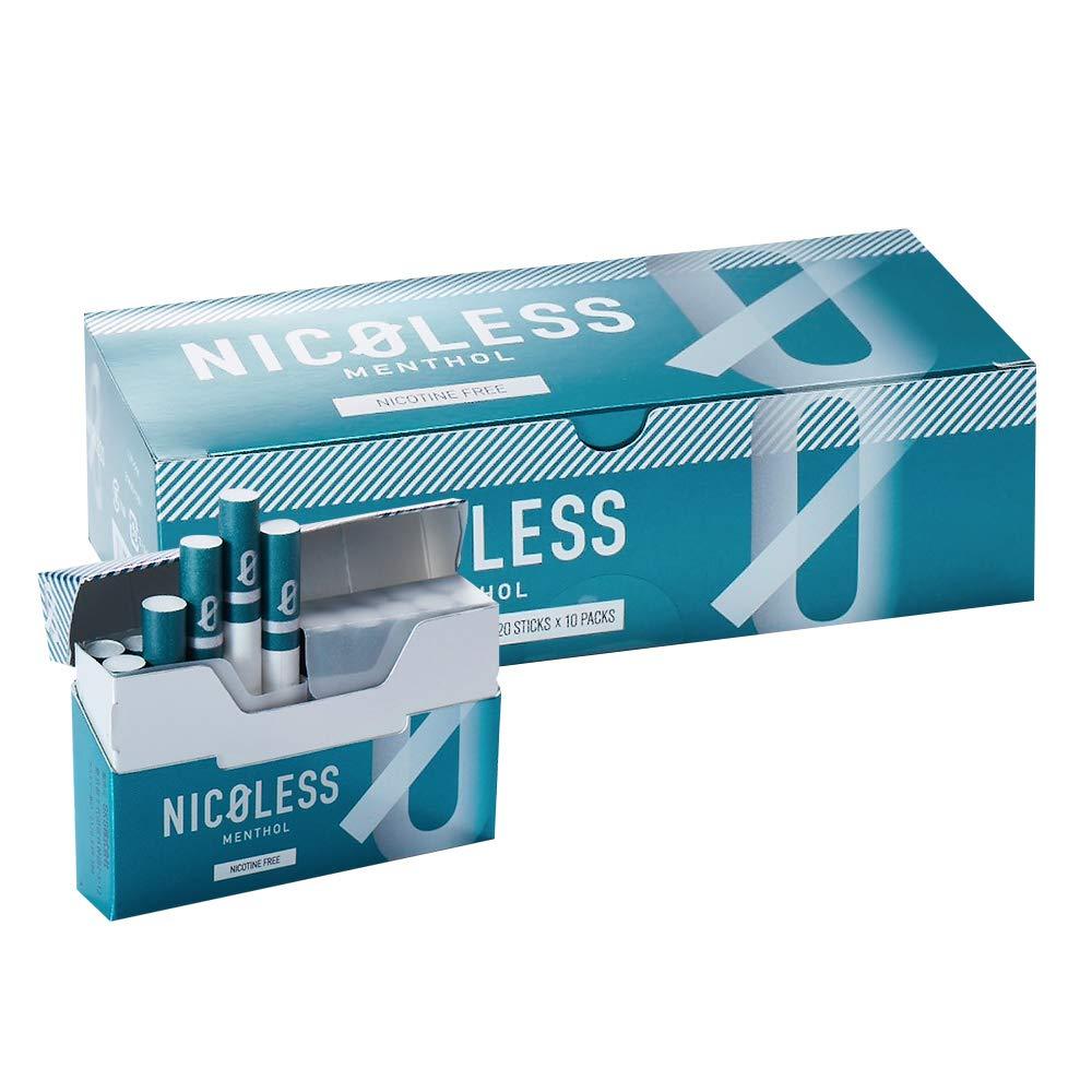 【予約5月下旬より順次発送】NICOLESS ニコレス メンソール 1カートン (10箱入り) 加熱式タバコ 加熱式たばこ ニコチン0 タール0 たばこ風 電子タバコ 電子たばこ 禁煙グッズ 互換機 スタイル