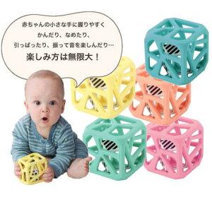 Malarkey Kids(マラーキーキッズ) Chew Cubeチューキューブ3ヵ月〜/歯固め/ラトル/洗えますプチギフト/かわいい/インスタ映え