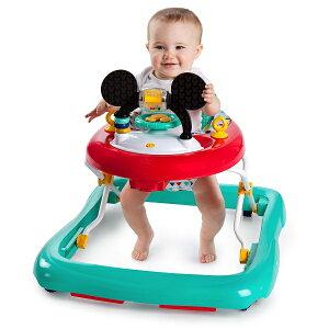 ★残りわずか★パッケージ不良★送料無料ミッキーマウス・ハッピートライアングル・ウォーカー赤ちゃんの歩きたい気持ちに歩行器ベビーウォーカー/おもちゃ付き楽しい仕掛けがいっぱい