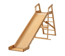 【サワベビー】【日本製】木製すべり台 木目(大) 滑り台 木製 133