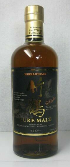 【国産ウイスキー】「ニッカ 竹鶴 ピュアモルト」 700ml
