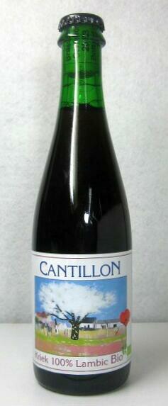 【ベルギービール】 「カンティヨン・クリーク」 375ml