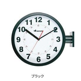 【ポイント10倍中!今だけ】ダルトン ダブルフェイス ウォールクロック ブラック 黒 両面時計 時計 掛け置き時計 壁時計 アナログ Dulton S82429BK
