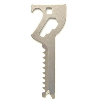 Key-Quest/ key quest made in multi-tool 6in1 key type convenience tool tool Japan