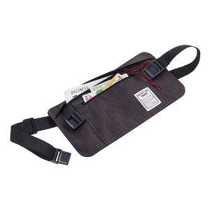 TROIKA トロイカ セキュリティポーチ パスポートケース マネーベルト ビジネスベルトバッグ TR-BBG57/GY ビジネスバッグ トラベルバッグ カードケース ウエストポーチ 代引き以外送料無料