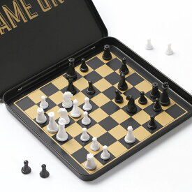 Iron&Glory アイアン&グローリー ゲームオン チェス LK-IAGGO Mini travel chess set Game On