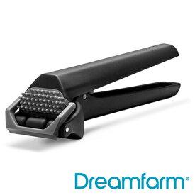 Dreamfarm (ドリームファーム) ガーリック Garject Lite ブラック   ニンニク にんにく 潰す プレス 汚れない 臭いがつかない ガーリックプレス キッチン器具 キッチン用ユン お料理 皮むき ギフト スタイリッシュ おしゃれ 新生活