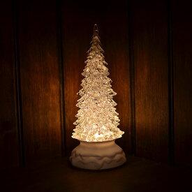 【セール品】VIDA/LED クリスタル ウォーターツリー ホワイト 22.5cm | ツリー ライト パーティ