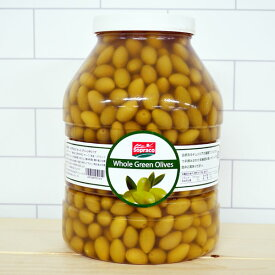 【セール】 オリーブ SOPRACO ホールグリーンオリーブ for pro 3900g Tunisia PRODUCT チュニジアプロダクト オリーブの実 食用 種あり パーティ おつまみ チュニジア 美味しい おしゃれ ギフト 大容量 お得