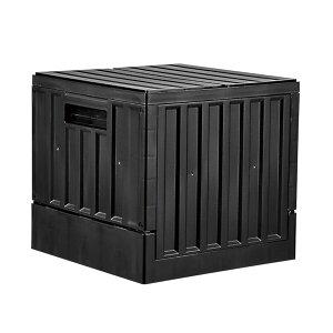 bcl コンテナボックス 22L ブラック | 収納ボックス キャンプ アウトドア インテリア 車収納 GOOUT 船便【8.18CP】【3.4OCP】