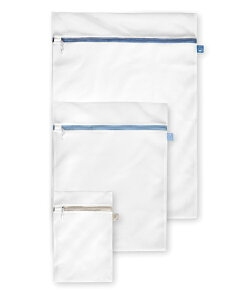 洗濯ネット 3枚セット ウォッシングバック Rayen レイエン 色もの 使い分け 洗濯機 乾燥機使用可 セーフティロック 洗濯物 守る 掃除