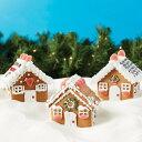 【セール品】Create A Treat ジンジャーブレッド ミニヴィレッジキット | Gingerbread Mini Village Kit お菓子の家 …