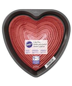 Wilton/9インチ ハートケーキパン 9in Heart Pan 焼き型 ケーキ型 デコレーション