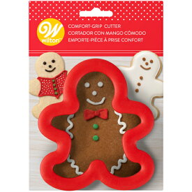 Wilton コンフォートグリップカッター ジンジャーボーイ | ウィルトン クッキー型 クリスマス 抜き型 お菓子 COMF-GRIP GBREAD BOY