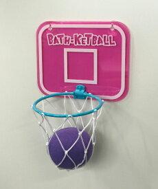 バスケットボール インザバス ピンク バストイ お風呂 スポンジ 遊べる 洗う
