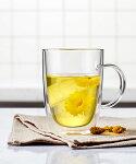グラスカップダブルウォールバイディームBUYDEEM耐熱ガラス二重軽量保温保冷断熱アイスホットお茶薬膳ギフトおしゃれ