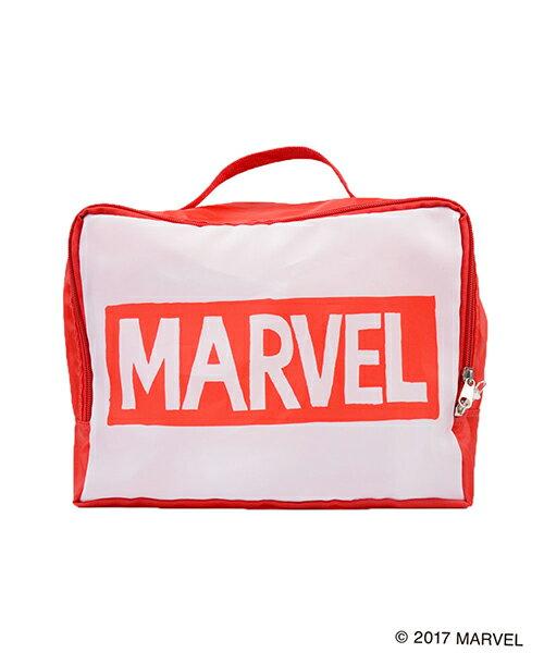 MARVEL COLLECTION(マーベル) / トラベル収納バッグS マーベルロゴ プレゼント ギフト スタイリッシュ おしゃれ