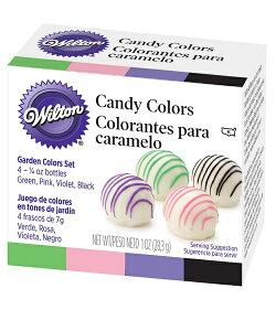 Wilton(ウィルトン) / ガーデンキャンディカラー 製菓材料 チョコレート デコレーション フードカラー 食用色素 食品