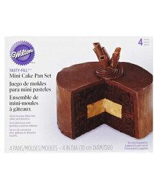 Wilton(ウィルトン) / ミニテイスティフィルパン 4PC MINI TASTY-FILL PAN SET 4PC 製菓 プレゼント ギフト スタイリッシュ おしゃれ