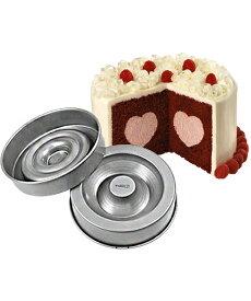 【スーパーセール】Wilton(ウィルトン) / ハートテイスティフィルパン HEART TASTY FILL PAN SET 製菓 プレゼント ギフト スタイリッシュ おしゃれ キッチン