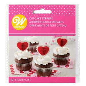 Wilton バレンタインハニーコンボピック12CT | 手作りお菓子 料理 ランチ バレンタイン ウィルトン HONEYCOMB PICK VALENTINES 12 COUNT