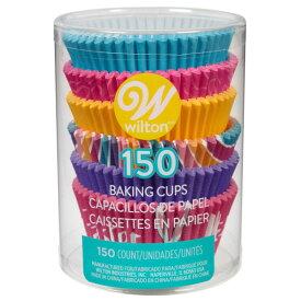 Wilton ヒップホップマフィンカップチューブ150CT | ウィルトン イースター マフィン カップケーキ ベイキング 焼き型 お弁当 ペーパー 敷き紙 ライナー Easter Cupcake Muffin Cake Baking