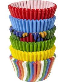 Wilton (ウィルトン) / ミニカップチューブプライマリー | MINI CUP PRIMARY MULTI 150CT プレゼント ギフト カップケーキ マフィン カップ ケーキデコレーション 誕生日 製菓 食品 製菓材料