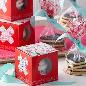 Wilton スプレッドラブカップケーキボックス 製菓商材 デコレーション ケーキ バレンタイン ウィルトン カップケーキ プレゼント ラッピング ギフト お菓子 GIFT BAG PRESENT CUPCAKE TREAT