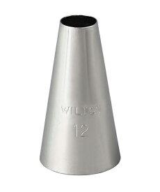 Wilton(ウィルトン) / ラウンドチップ 口金#12 ROUND TIP #12 CARDED 製菓 プレゼント ギフト スタイリッシュ おしゃれ