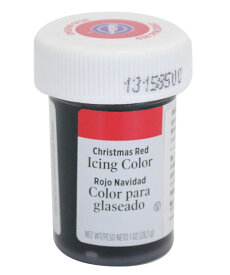 WILTON(ウィルトン) / クリスマスレッドアイシングカラー1オンス 製菓 食品着色料
