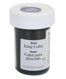WILTON(ウィルトン) / ブラックアイシングカラー1オンス 製菓 食品着色料