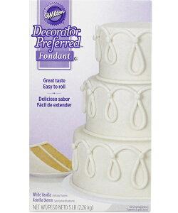 Wilton ウィルトン / ロールフォンダンホワイト 16オンス DP WHITE FONDANT 5LB 製菓 プレゼント ギフト スタイリッシュ おしゃれケーキ ケーキデコレーション フォンダン 誕生日