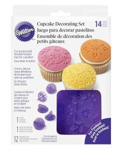 Wilton(ウィルトン) / カップケーキデコセット フラワー CUPCAKE DEC SET FLOWERS 製菓 プレゼント ギフト スタイリッシュ おしゃれ