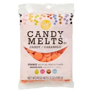 製菓用 チョコレート オレンジキャンディメルツ Wilton ウィルトン ポップス ケーキポップ チョコ ディップ メルト チョコチップ Choco