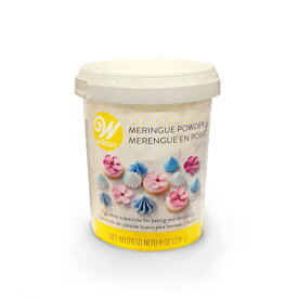 Wilton ウィルトン 8オンスメレンゲパウダー | 乾燥卵白製菓材料 メレンゲ