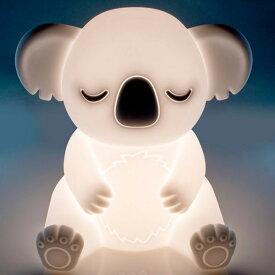 ナイトライト LED タッチライト コアラ LEDWORKS レッドワークス 充電式 ルームランプ キッズ かわいい ギフト タッチセンサー付き 調光 子供部屋 インテリア 【5.23】