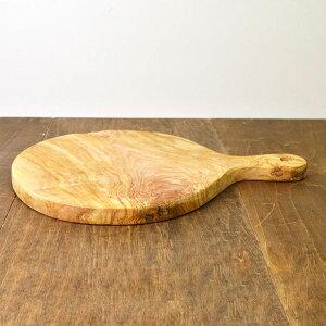 オリーブ カッティングボード ラウンド 42×30cm オリーブ オリーブの木 おしゃれ 食器 皿 まな板 木製 パーティ オリーブウッド レア 一点もの チュニジア 【1.8chu】