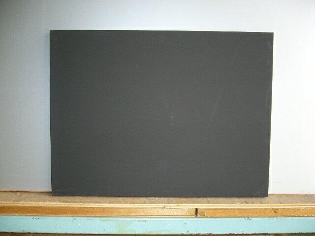 ★看板・メニューボード★ 木製黒板(黒色) 受け皿なし 1200×900 【送料無料】