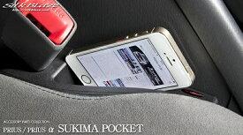 SilkBlaze シルクブレイズ ZVW30/ZVW40/41 30系プリウス/40系プリウスα 隙間ポケット