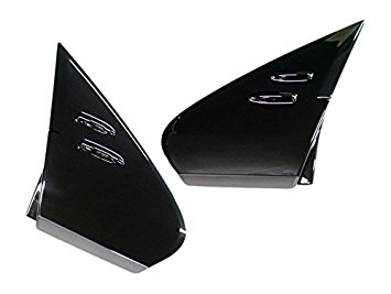 【国内正規純正部品】TOYOTA トヨタ純正50系プリウスPHV用艶ありブラックAピラーカバー左右セット50系プリウス流用可能ZVW50 ZVW51 ZVW55